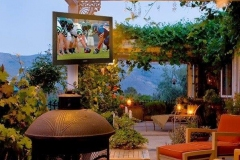 outdoor tv patio